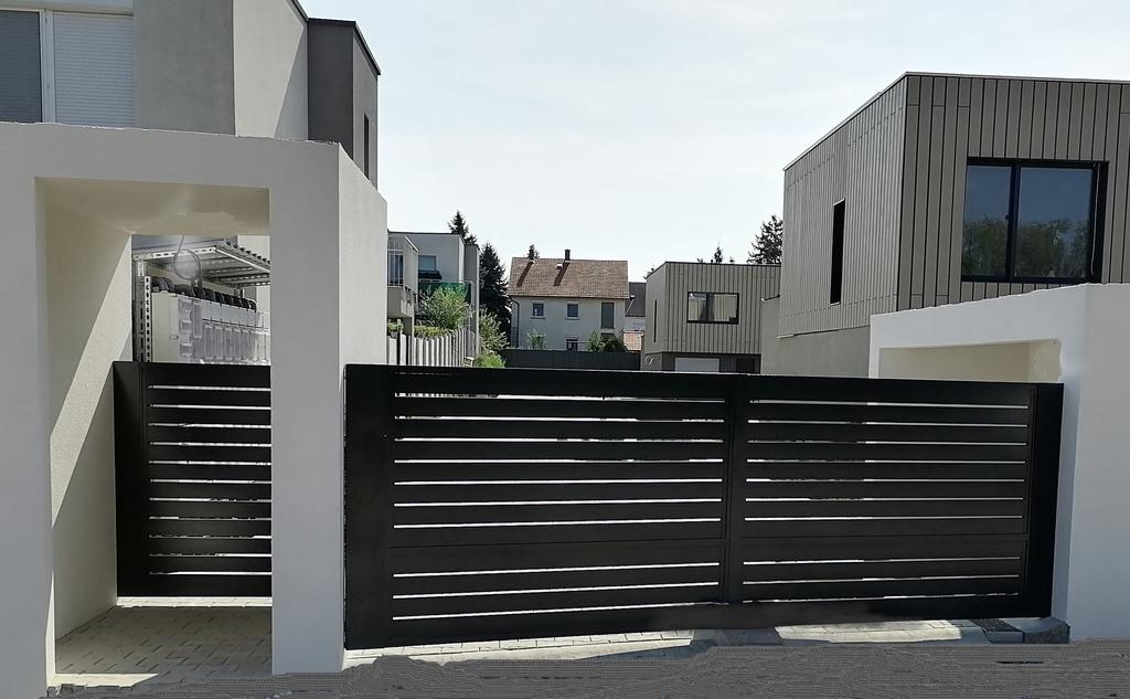 Galéria - Alumínium léces kerítések
