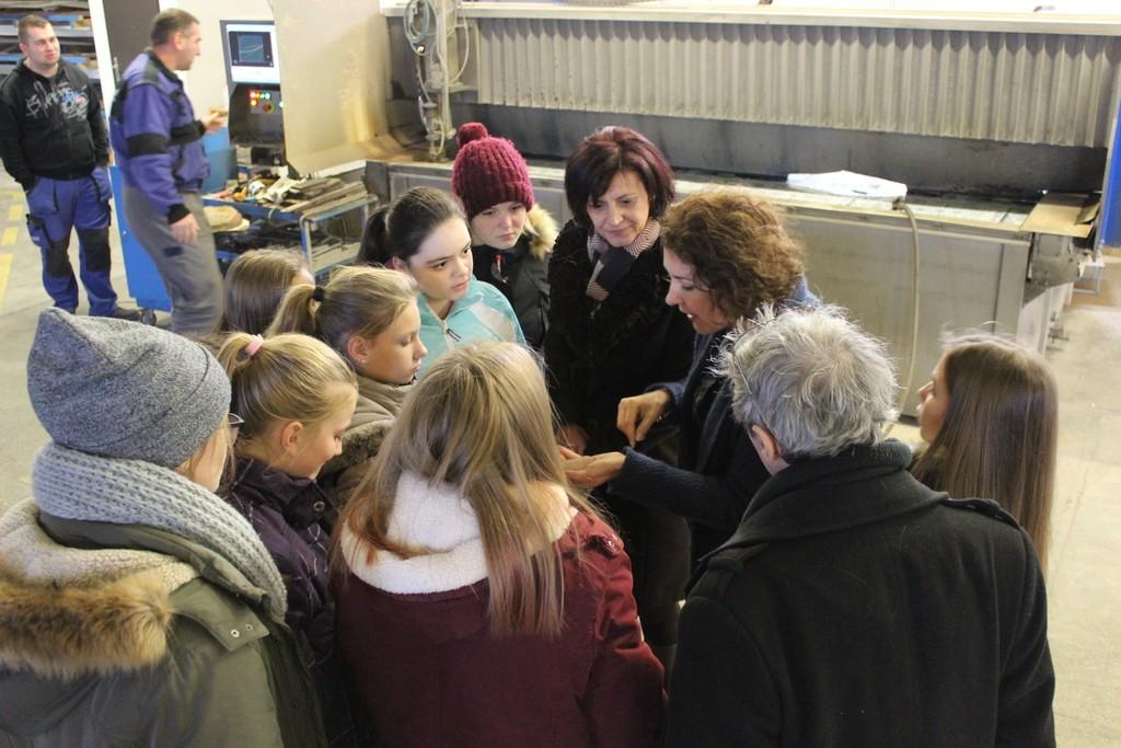 Pályaorientációs üzemlátogatások a Ferenczi Kft-nél