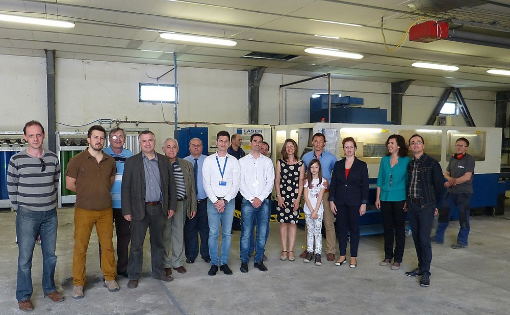 Lézervágás-technológia a Ferenczi Kft-nél