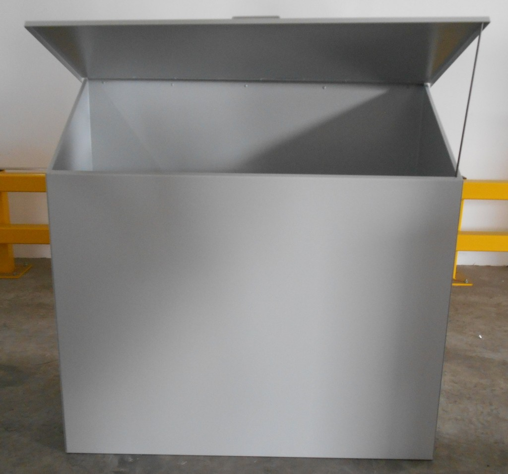 Flammable Storage Sloping Top Bin