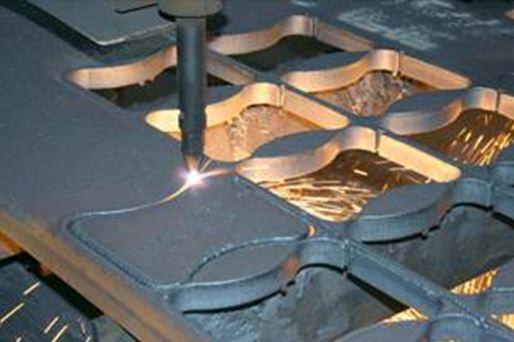 CNC alakos lángvágás