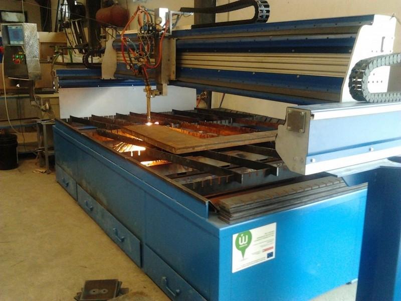 CNC lángvágó berendezés