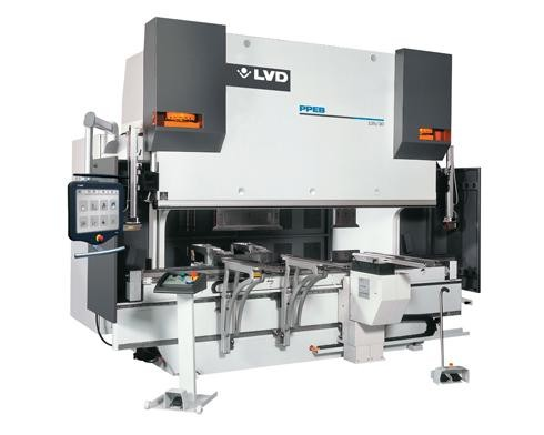 CNC controlled LVD bending machine