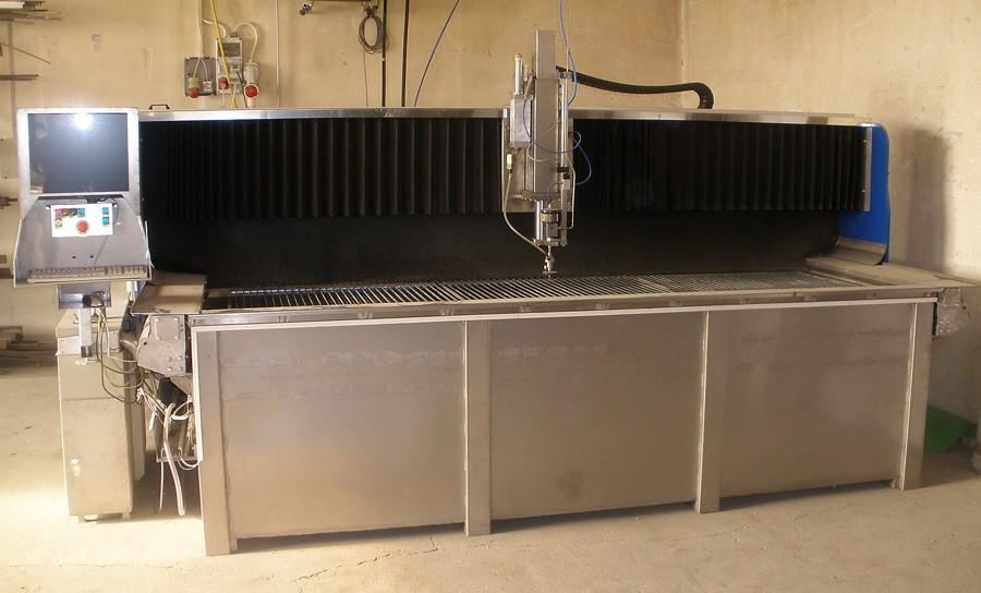 CNC vízsugaras vágás